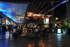 Asiatique, il mercato notturno, Bangkok