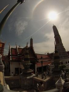 Zenit, scattata con GoPro, Palazzo Reale, Bangkok