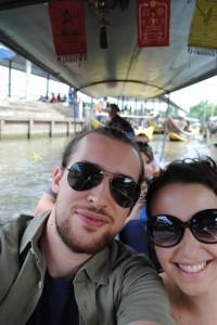 Pronti per il mercato galleggiante, Thailandia