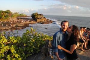 Tanah Lot, kisses & Giappos, Bali