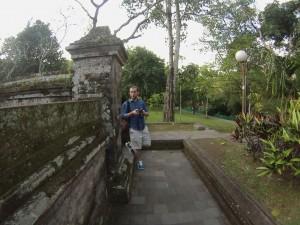 Passeggiando al tempio, Bali