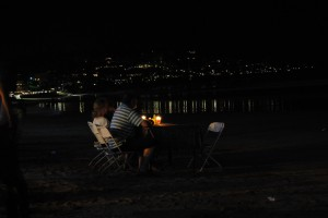 Cena sulla spiaggia, Jimbaran